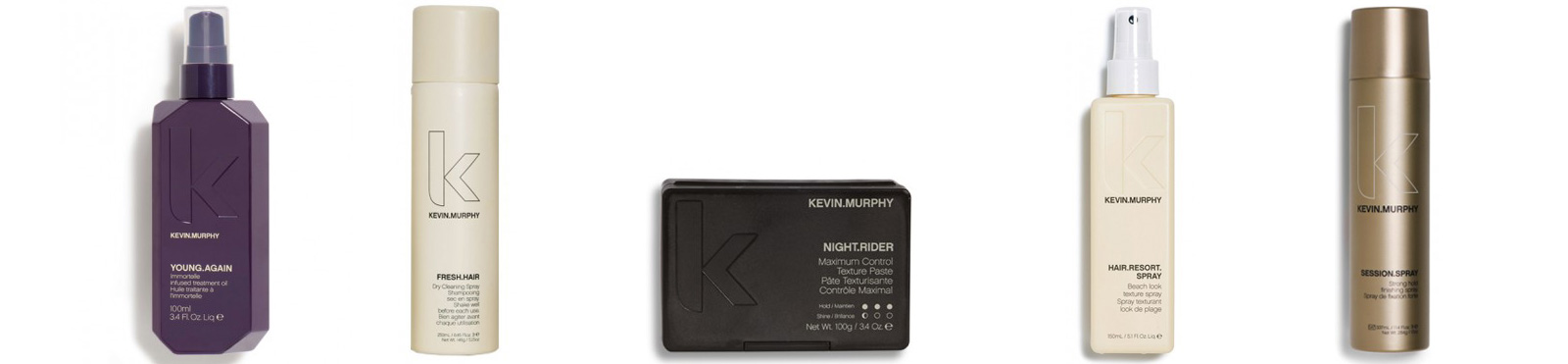 For styling, Zea Salon proudly uses Kevin Murphy.